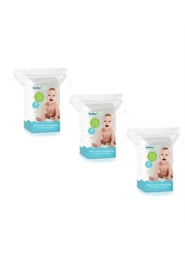 BabyJem Babyjem Bebek Temizleme Pamuğu 60X3 Adet Renksiz